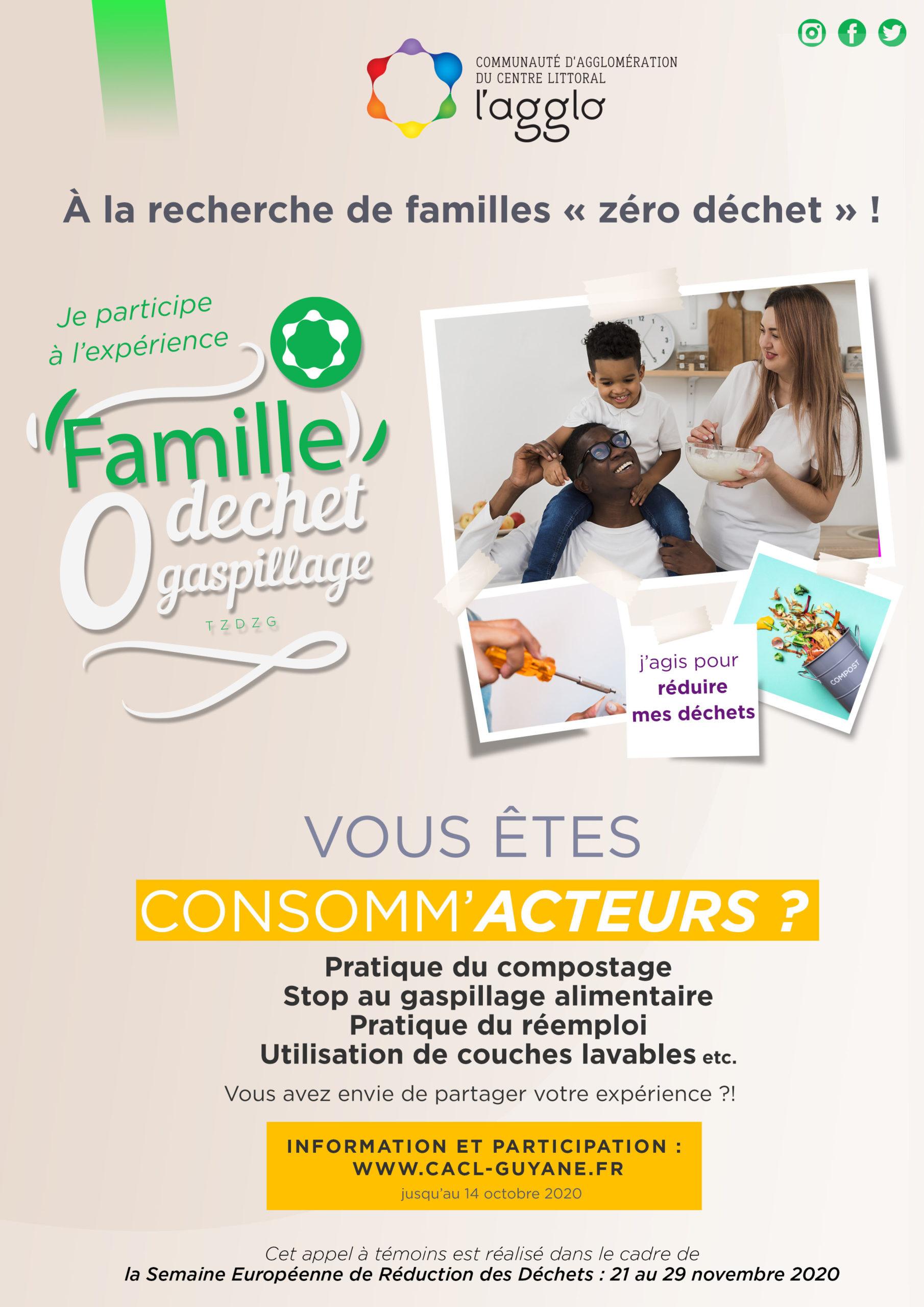 AFFICHE APPEL FAMILLE