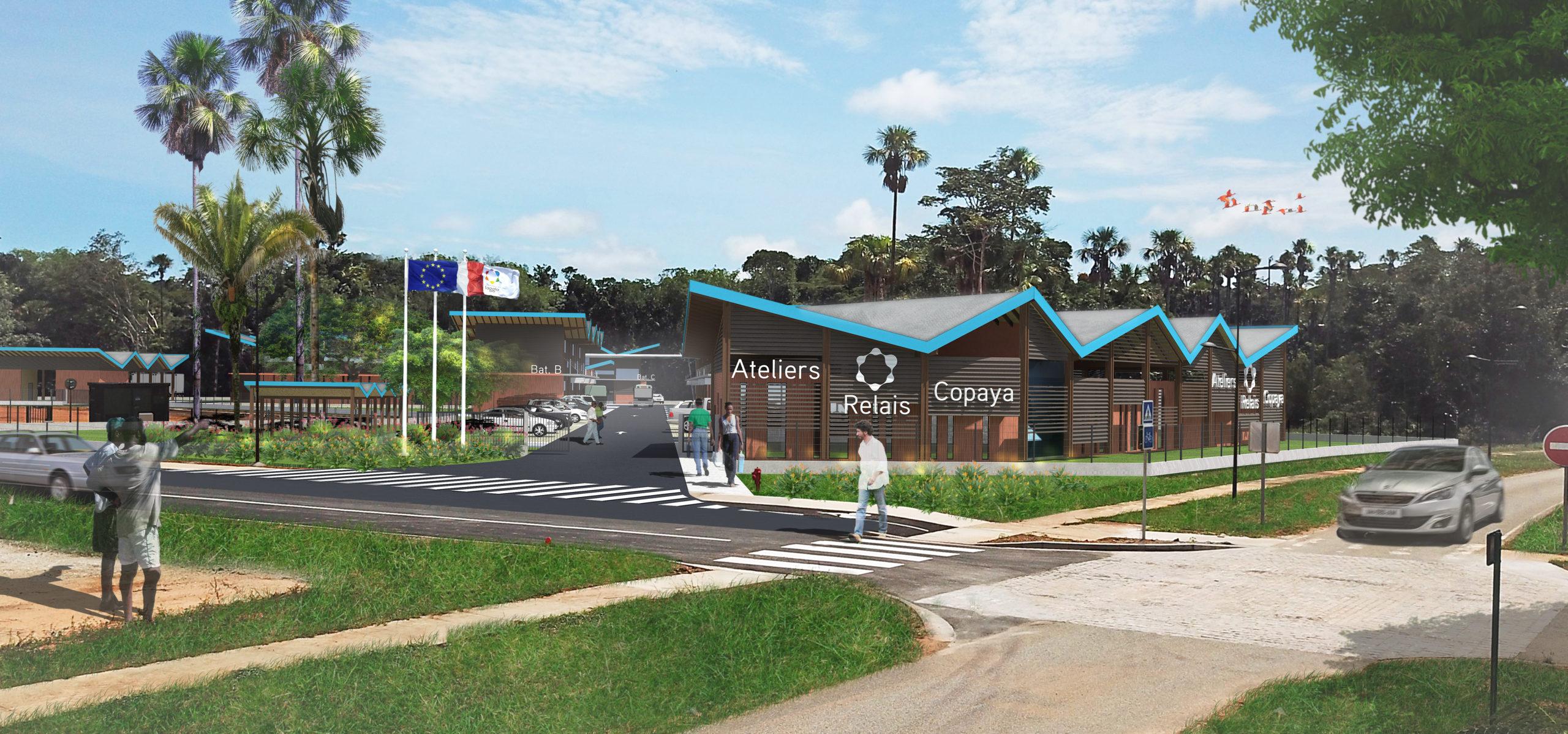 Atelier Relais - Crédit Gaïa Architectes