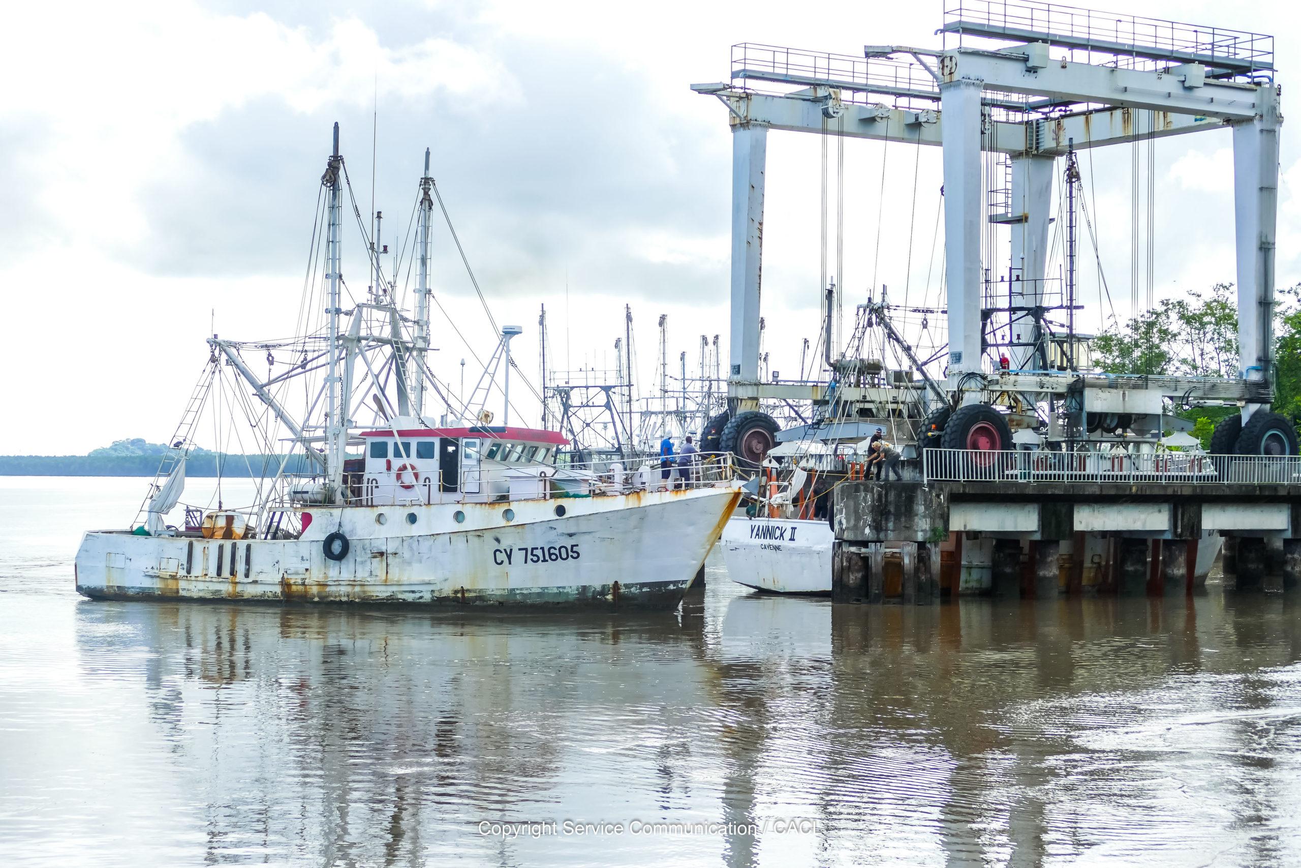 Port du Larivot - Portique de levage