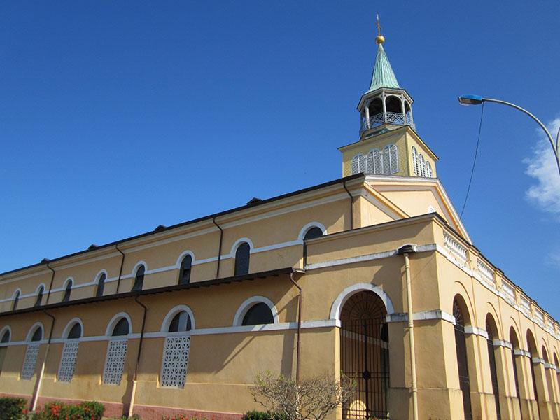 Cathédrale Saint Sauveur, Cayenne