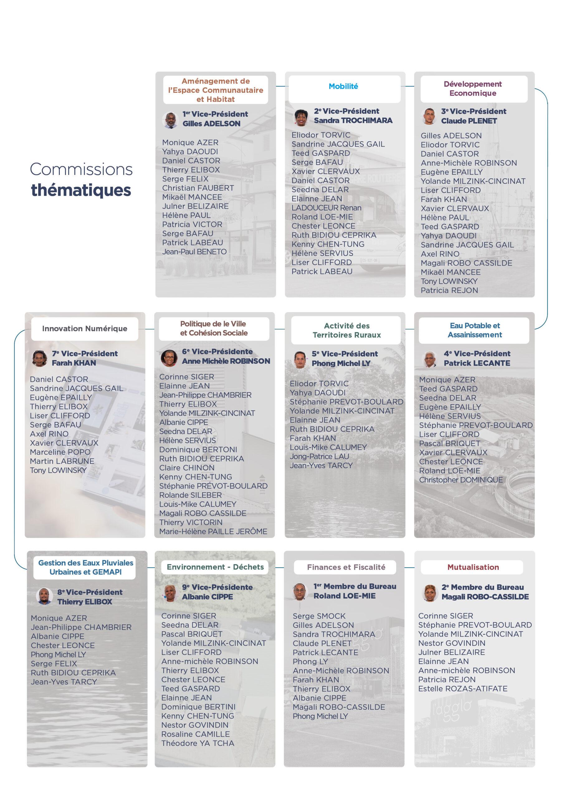 Commissions thémathiques