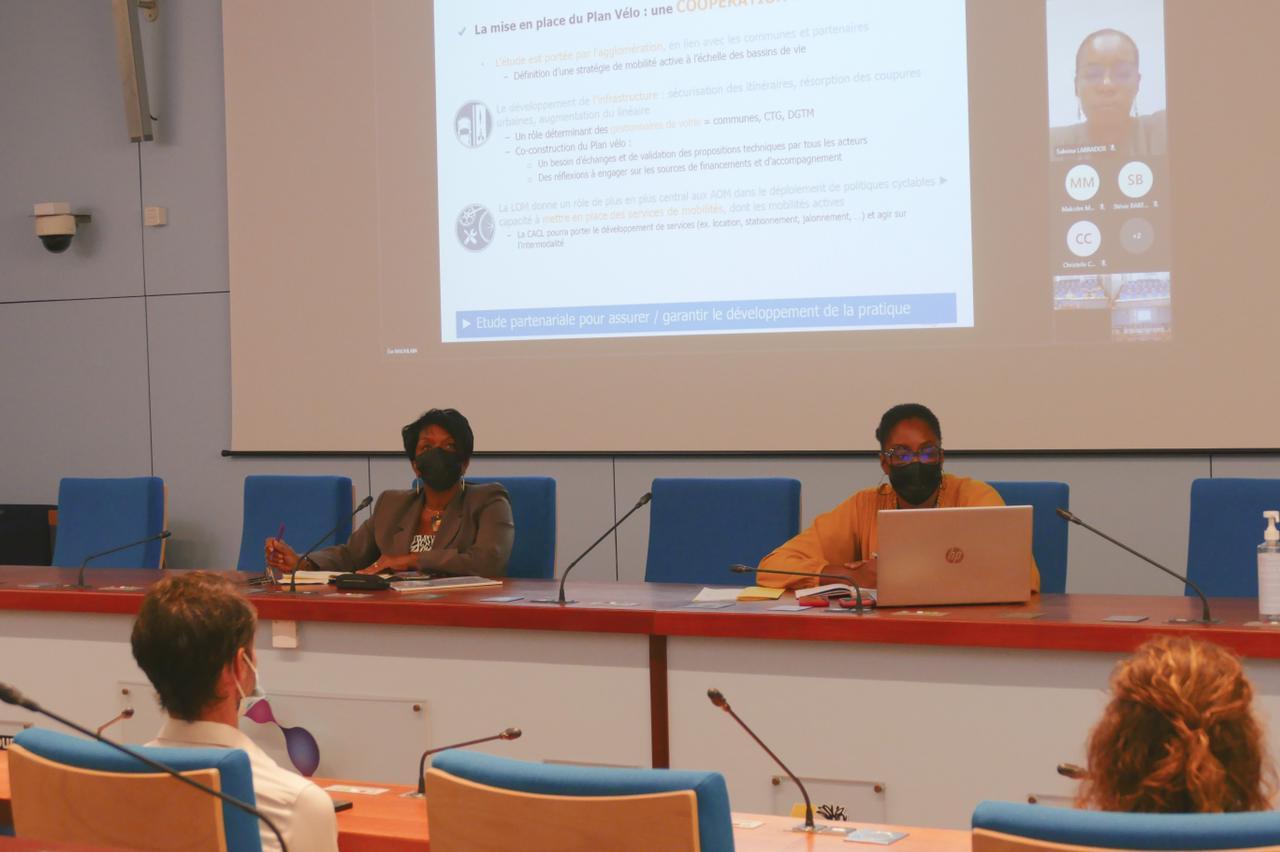 1er comité technique du Plan Vélo de la CACL