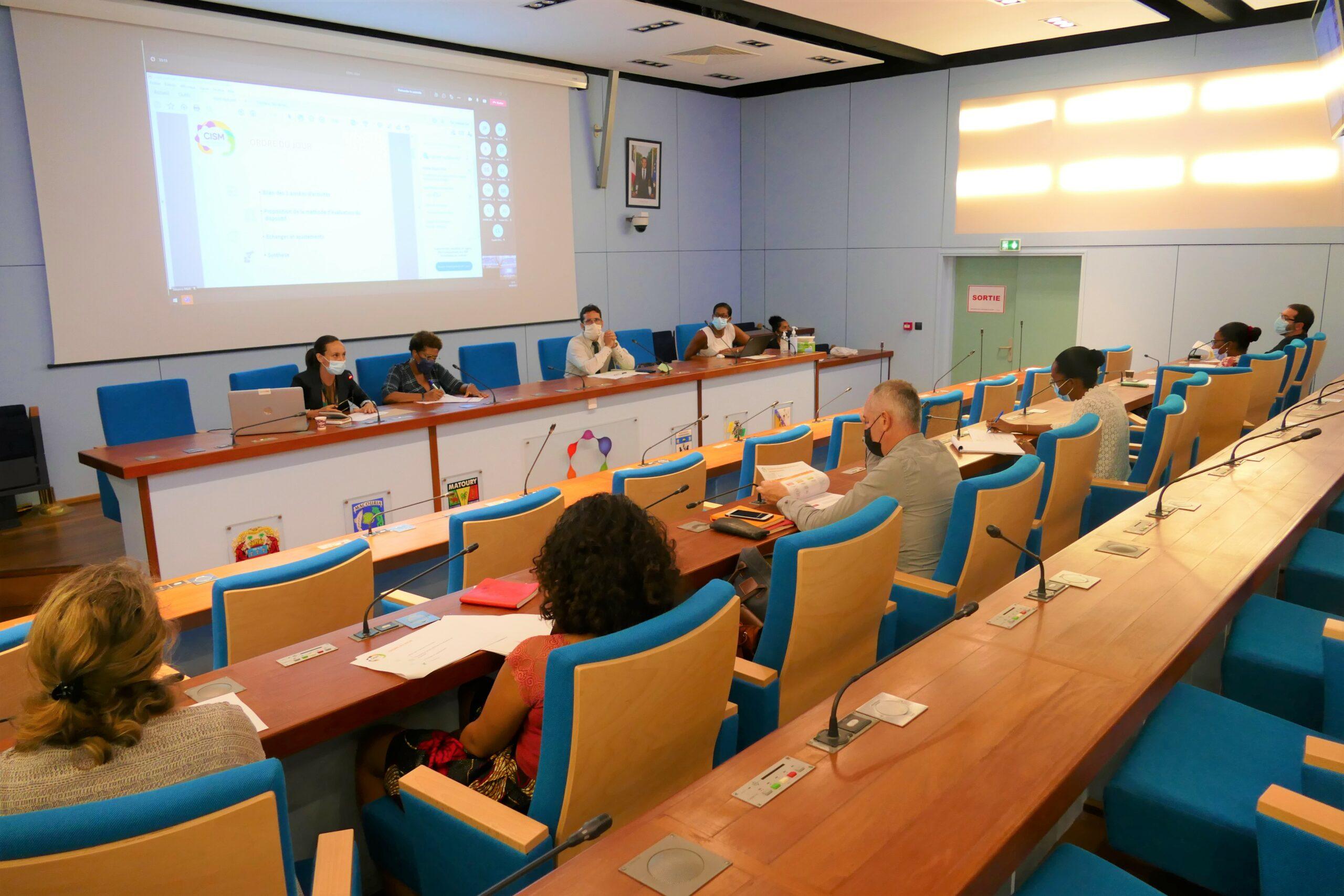 1er Comité de Pilotage du Conseil Intercommunal de la Santé Mentale