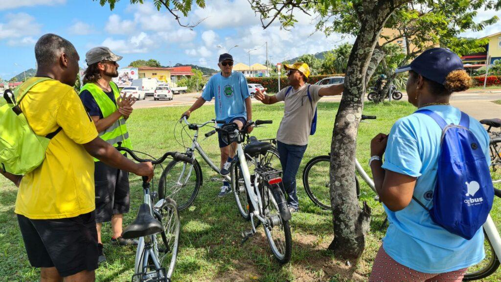 Formation vélo des élus